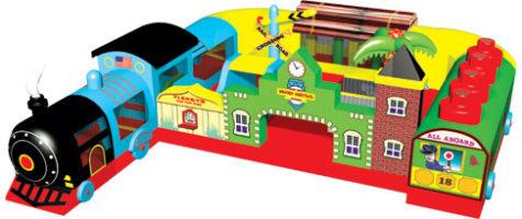 Train Express Inflatable - Colasantis
