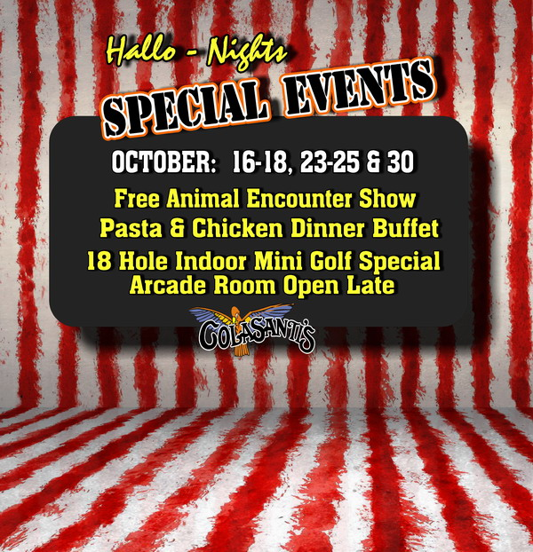 Colasanti's Tropical Gardens - Hallo-Nights Entertainment