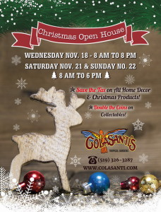 Colasanti's 2015 Annual Christmas Open House