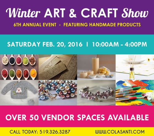 6th Annual Winter Art & Craft Show - Colasanti's Tropical Gardens