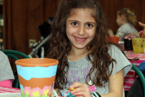 March Break Clay Pot Painting and Planting Classes