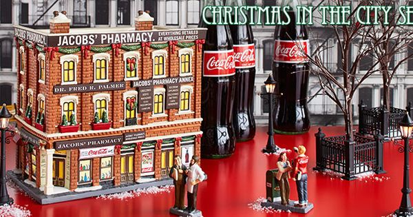 Jacob's Pharmacy Dept. 56 Christmas In the City - Colasanti's Tropical Gardens Christmas In July Sale