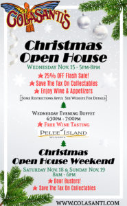Colasanti's 2017 Christmas Open House