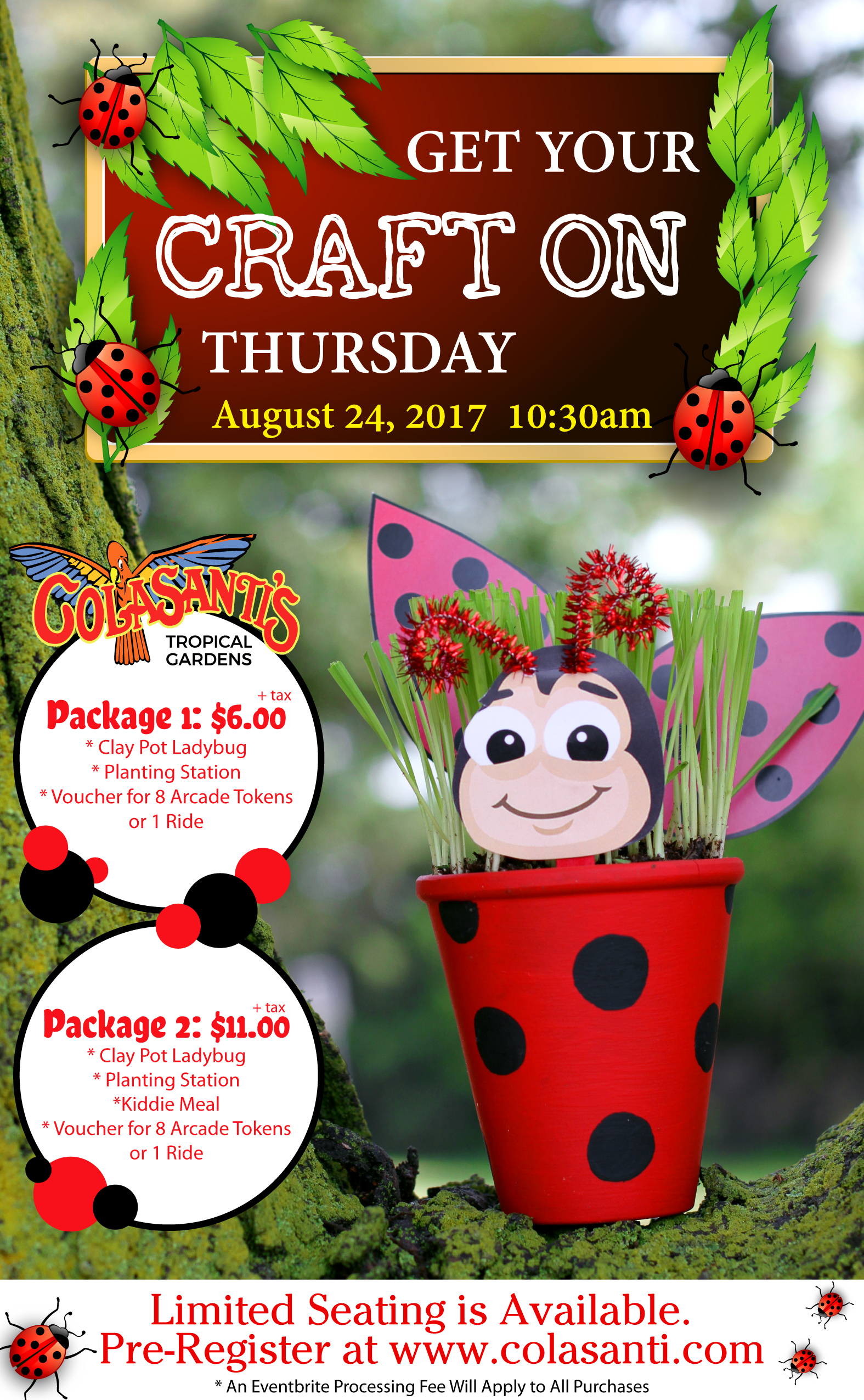 Get Your Craft On Thursday at Colasanti's Tropical Gardens