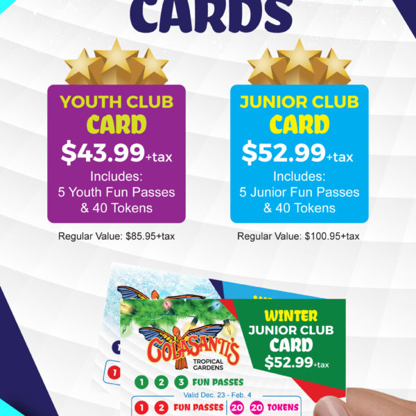 2017-2018 Winter Club Card Flyer