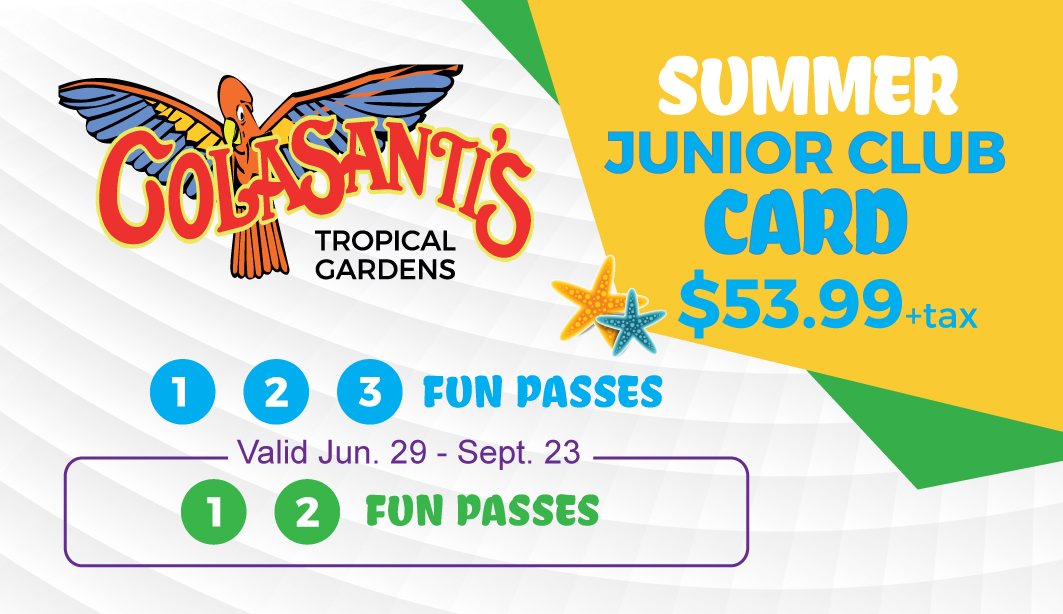 Colasanti's Junior Club Card-(Summer 2018)