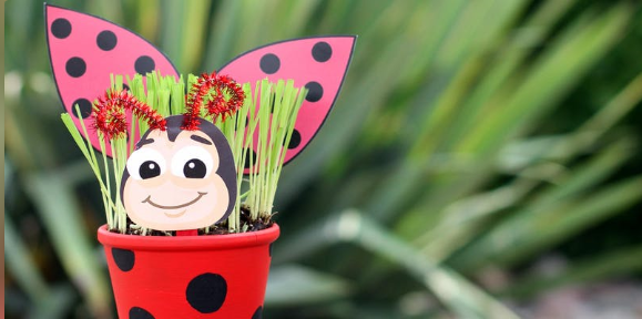 lady bug - colasanti's get your craft on thursday