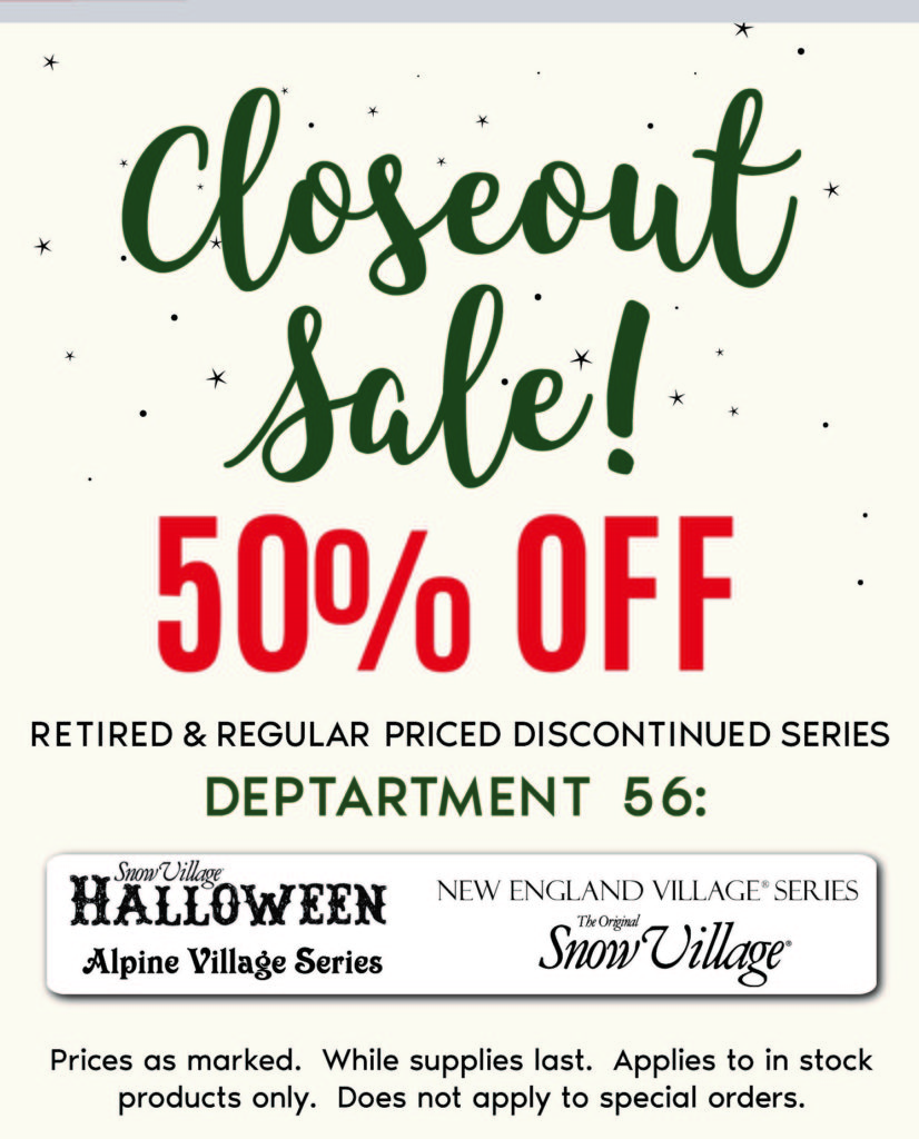 2019 Christmas in July and August - Department 56 - Colasanti's
