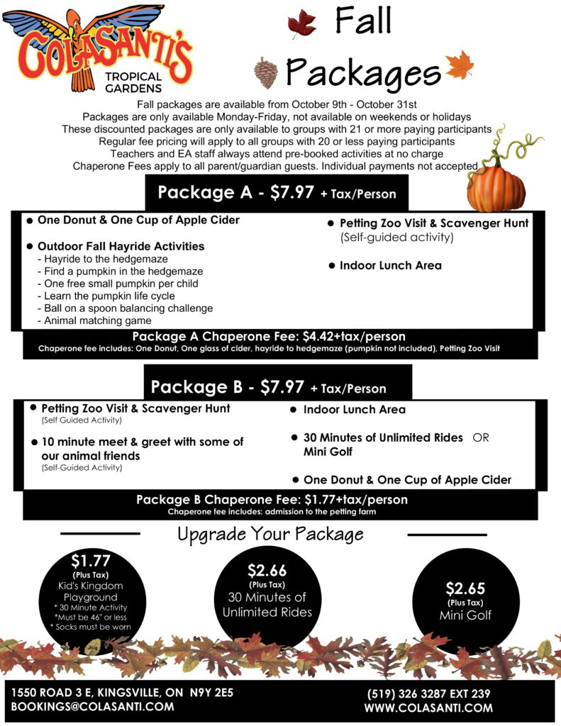 Colasantis Fall Packages FINAL
